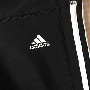 adidas striped leggings